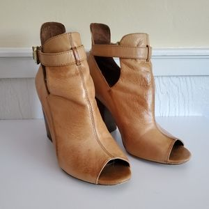 Chinese Laundry-Peep Toe Ankle Booties